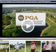 The PGA Minority Collegiate Golf Championship presented by Brown Capital Management