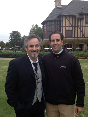 David Feherty and PGA Professional Peter Vitali