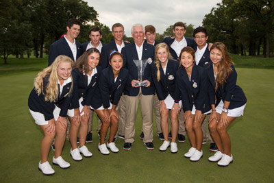 Victorious U.S. Junior Ryder Cup Team