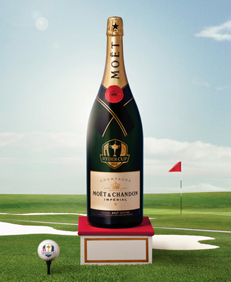 Moet & Chandon toast entry into U.S. golf