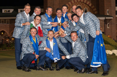 European Team retains Ryder Cup. (Photo: The PGA of America)